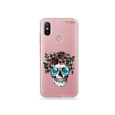 Capa para Xiaomi Mi A2 - Caveira