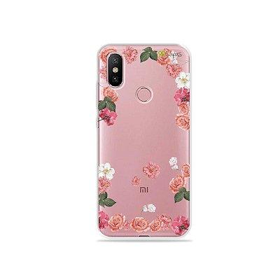 Capa para Xiaomi Mi A2 - Pink Roses