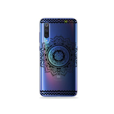 Capa para Xiaomi Mi 9 - Mandala Preta