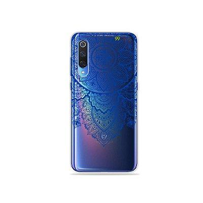 Capa para Xiaomi Mi 9 - Mandala Azul