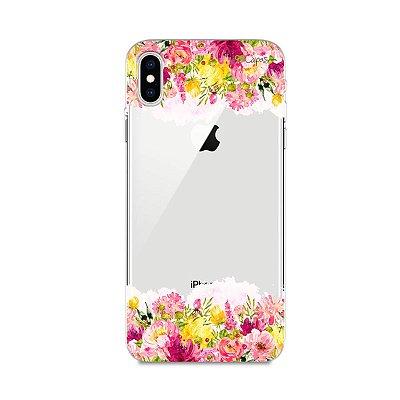Capa para iPhone XS Max - Botânica