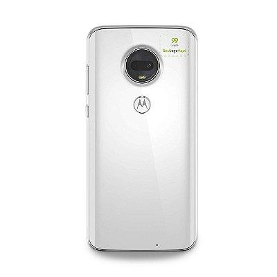 Capa Anti-shock transparente para Motorola com sua logo no canto superior direito