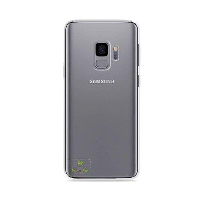 Capa Anti-shock transparente para Galaxy S com sua logo no canto inferior esquerdo