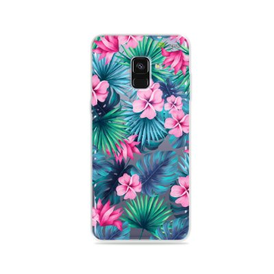 Capa para Galaxy A8 Plus 2018 - Tropical
