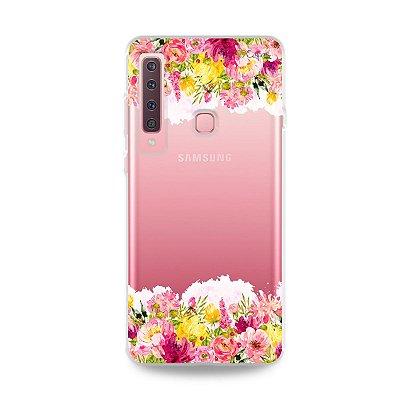 Capa para Galaxy A9 2018 - Botânica