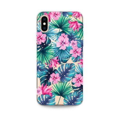 Capa para iPhone X/XS - Tropical