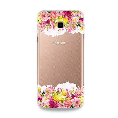 Capa para Galaxy J4 Plus - Botânica