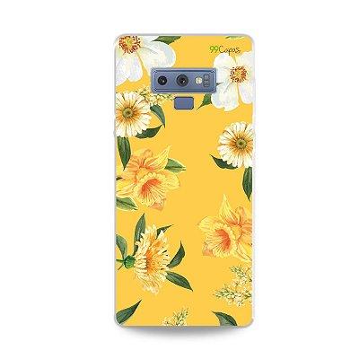 Capa para Galaxy Note 9 - Margaridas