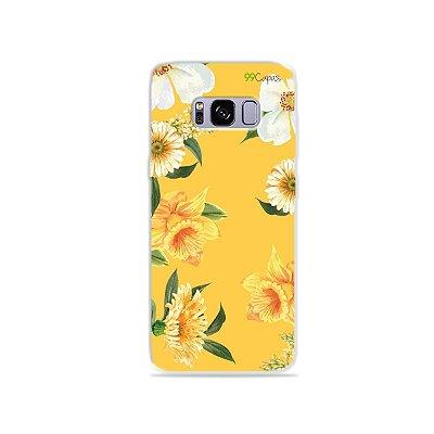 Capa para Galaxy S8 - Margaridas