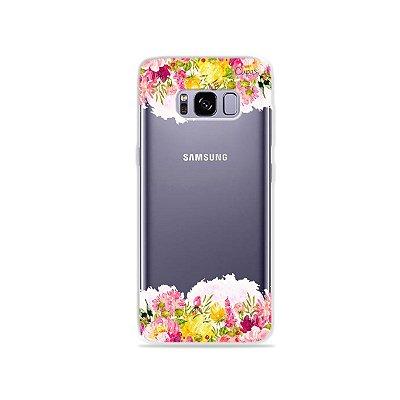 Capa para Galaxy S8 - Botânica