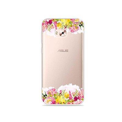 Capa para Zenfone 4 Selfie Pro - Botânica