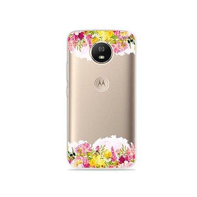 Capa para Moto G5S - Botânica