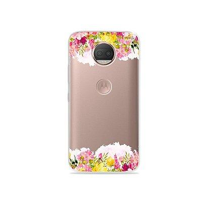 Capa para Moto G5S Plus - Botânica