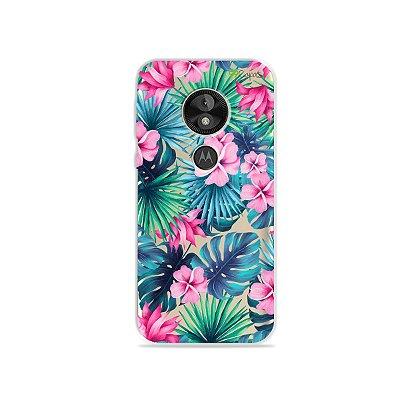 Capa para Moto E5 Play - Tropical