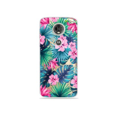 Capa para Moto E5 Plus - Tropical