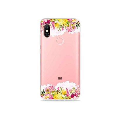 Capa para Xiaomi Redmi Note 6 Pro - Botânica