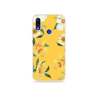 Capa para Xiaomi Redmi Note 7 - Margaridas
