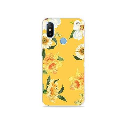 Capa para Xiaomi Mi 8 - Margaridas