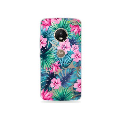 Capa para Moto G5 Plus - Tropical