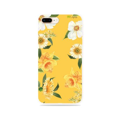 Capa para iPhone 8 Plus - Margaridas