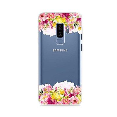 Capa para Galaxy S9 Plus - Botânica