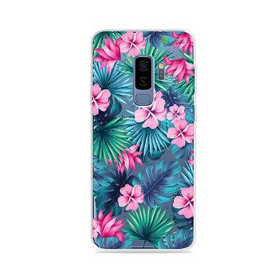 Capa para Galaxy S9 Plus - Tropical