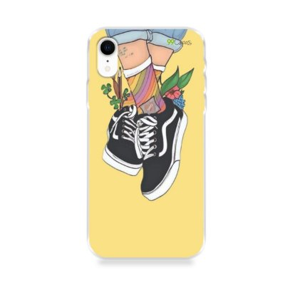 Capa para iPhone XR - Sneakers