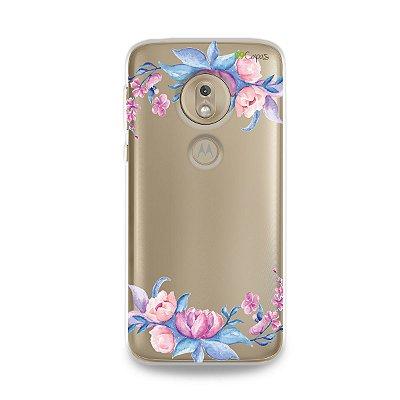 Capa para Moto G7 Play - Bromélias
