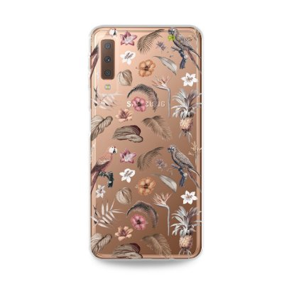 Capa para Galaxy A7 2018 - Sweet Bird