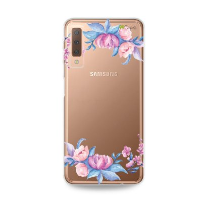 Capa para Galaxy A7 2018 - Bromélias