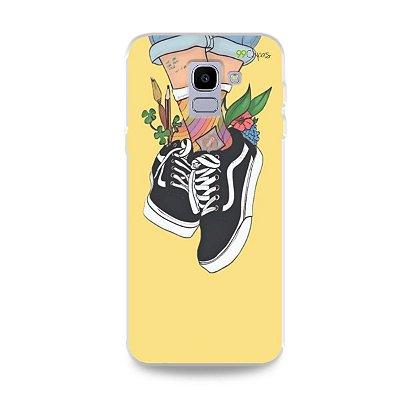 Capa para Galaxy J6 - Sneakers