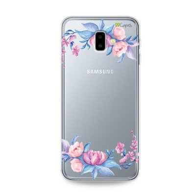 Capa para Galaxy J6 Plus - Bromélias
