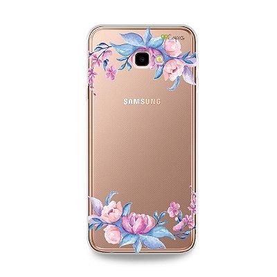 Capa para Galaxy J4 Plus - Bromélias