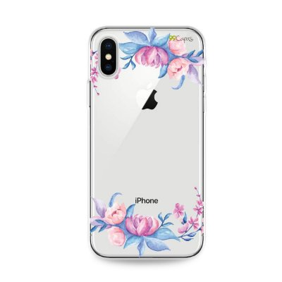 Capa para iPhone X/XS - Bromélias