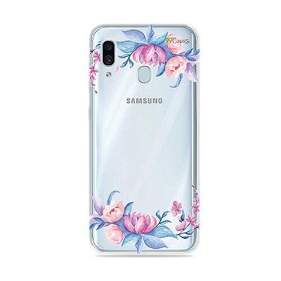 Capa para Galaxy A30 - Bromélias