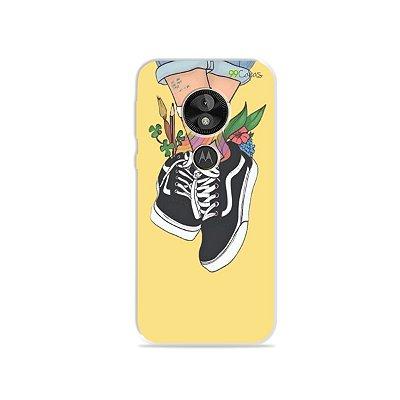 Capa para Moto E5 Play - Sneakers