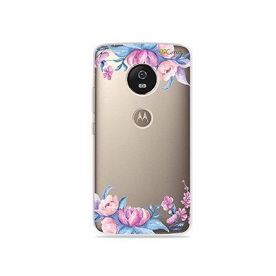 Capa para Moto G5 - Bromélias