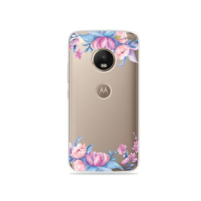 Capa para Moto G5 Plus - Bromélias