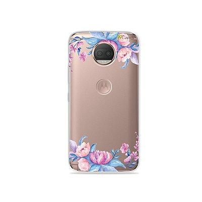 Capa para Moto G5S Plus - Bromélias