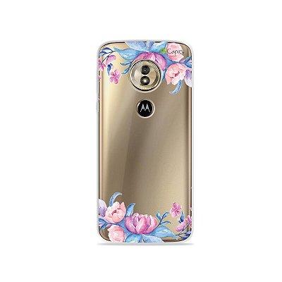Capa para Moto G6 Play - Bromélias