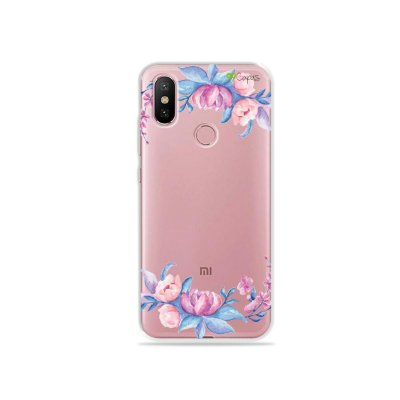 Capa para Xiaomi Mi A2 - Bromélias