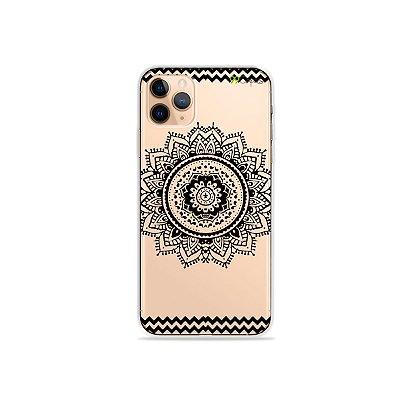 Capa para iPhone 11 Pro - Mandala Preta