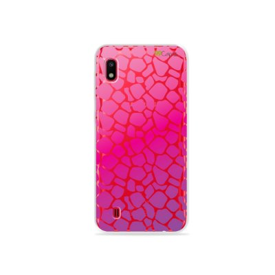 Capa para Galaxy A10 - Animal Print Pink