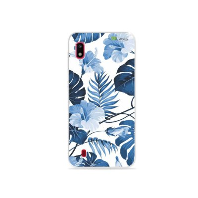 Capa para Galaxy A10 - Flowers in Blue
