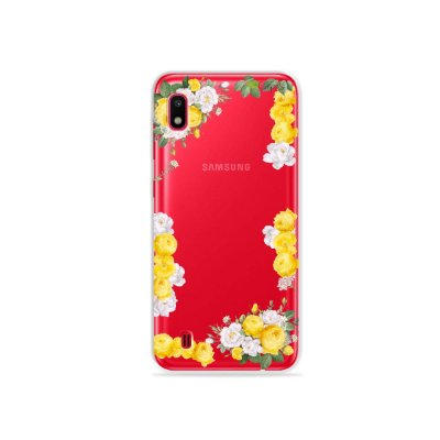 Capa para Galaxy A10 - Yellow Roses