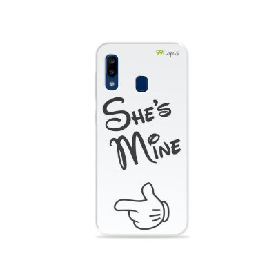 Capa para Galaxy A20 - She's Mine
