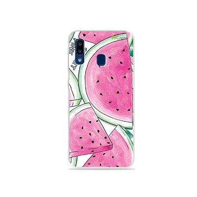 Capa para Galaxy A20 - Watermelon