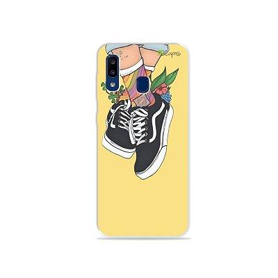 Capa para Galaxy A20 - Sneakers