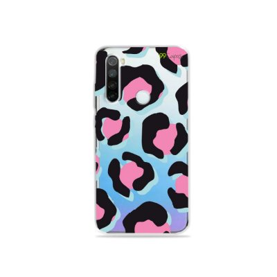 Capa para Xiaomi Redmi Note 8 - Animal Print Black & Pink