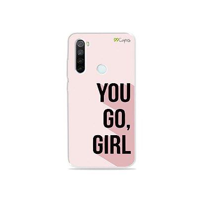 Capa para Xiaomi Redmi Note 8 - You Go, Girl